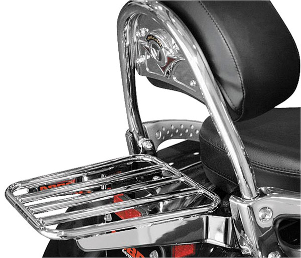 Cobra Solo Luggage Rack Tubed fits OEM Backrest