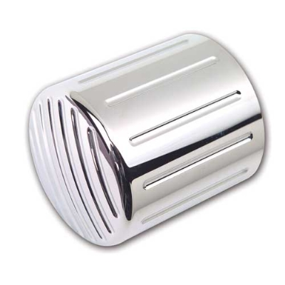 Pro-One Ball Milled Chrome Oil Filter Cover for Yamaha