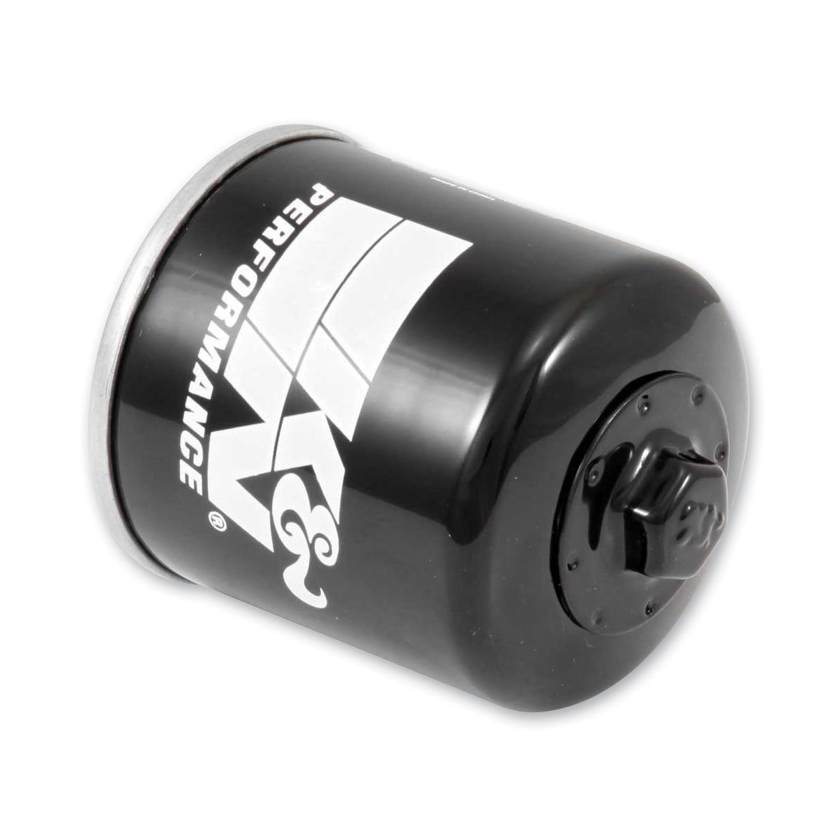K&N High Performance Black Wrench-Off Oil Filter