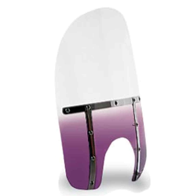 Memphis Shades Memphis Slims 17″ Tall Gradient Purple Windshield 9″ Headlight