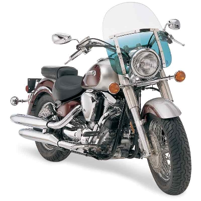 Memphis Shades Memphis Slims 15″ Tall Gradient Teal Windshield 9″ Headlight