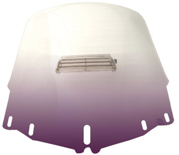 Memphis Shades Standard Vented Gradient Purple Windshield