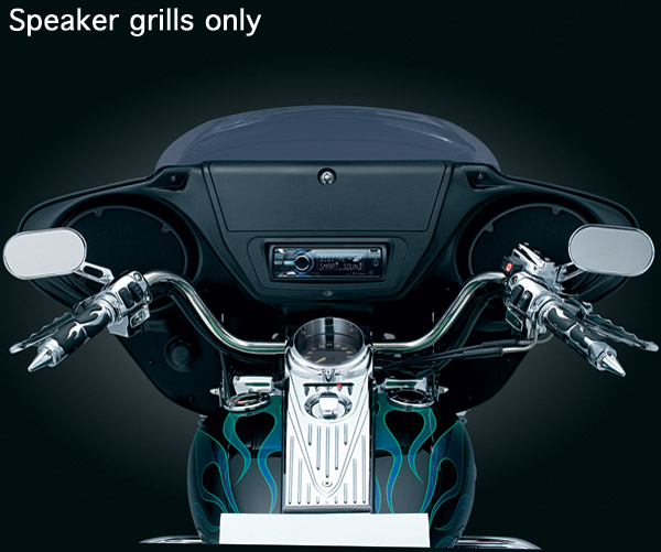 Kuryakyn Speaker Grills for AirMaster Fairings