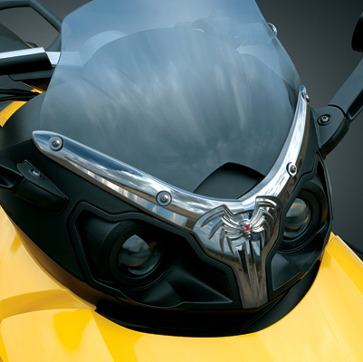 Kuryakyn Lower Windshield Edge Trim for Can-Am Spyder