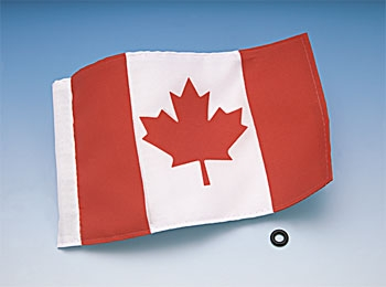 Replacement Canadian flag