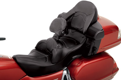 Saddlemen Road Sofa Deluxe Touring Seat With Driver Backrest H923j