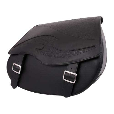U.S. Saddlebag Co. Inlay Embossed Quick Release Saddlebags