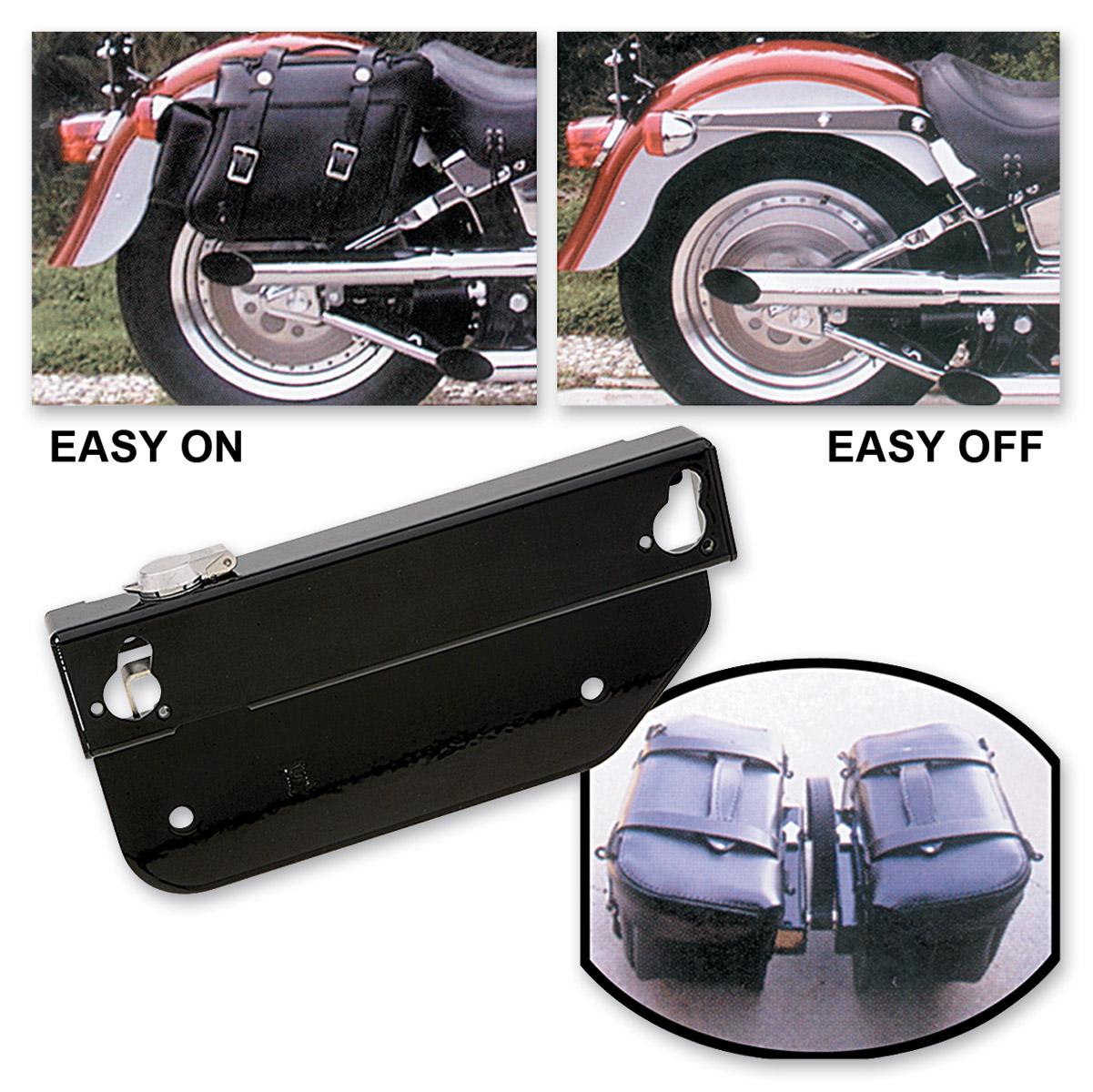 OEM backrest Easy Brackets for Honda Shadow AERO 750 w