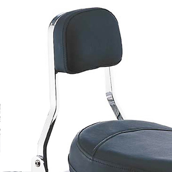 Cobra Short Square Sissy Bar with Pad