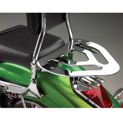 Show Chrome Accessories Sissy Bar Luggage Rack