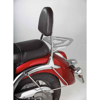 Show Chrome Accessories Cruiser Sissy Bar Kit VN900