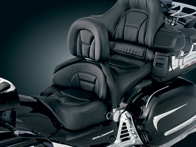 Kuryakyn Padded Bar Covers for Driver Backrest for GL1800