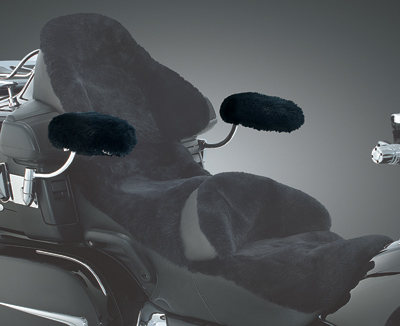 Kuryakyn Sheepskin Passenger Arm Covers