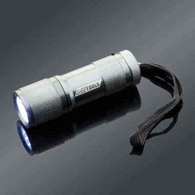 CruzTOOLS Super Brite 9-LED Flashlight