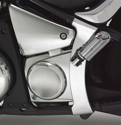 Show Chrome Accessories Swingarm Covers