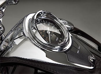 Show Chrome Accessories Speedometer Visor