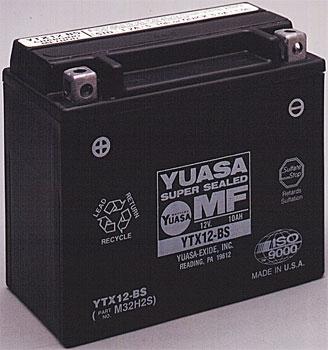 Yuasa Factory Activated Maintenance Free Battery