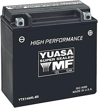 Yuasa High-Performance Maintenance Free Battery