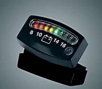 Kuryakyn LED Battery Gauge