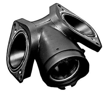 Baron Custom Accessories Ported Intake Manifold - BA-5524-00